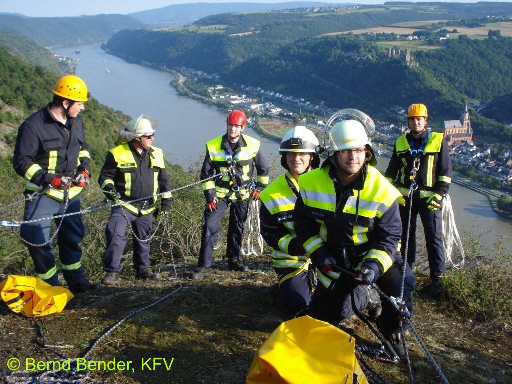 Klettersteig Nochern : Absturzsicherung